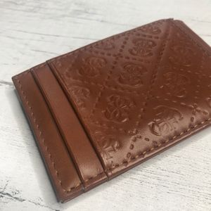 Thin Guess Single Fold Wallet - Perfect for Travel